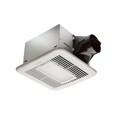 Hampton Bay 80 Cfm Ceiling Exhaust Fan With Led Light And Nightlight Vfb25acled2 The Home Depot Ceiling Exhaust Fan