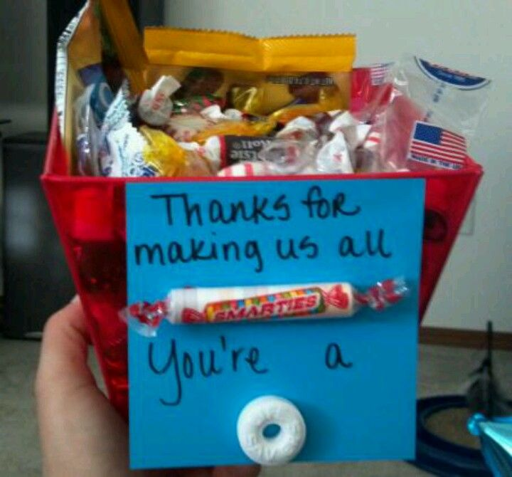 A gift I came up with for my Nursing Instructor, she loved it ...