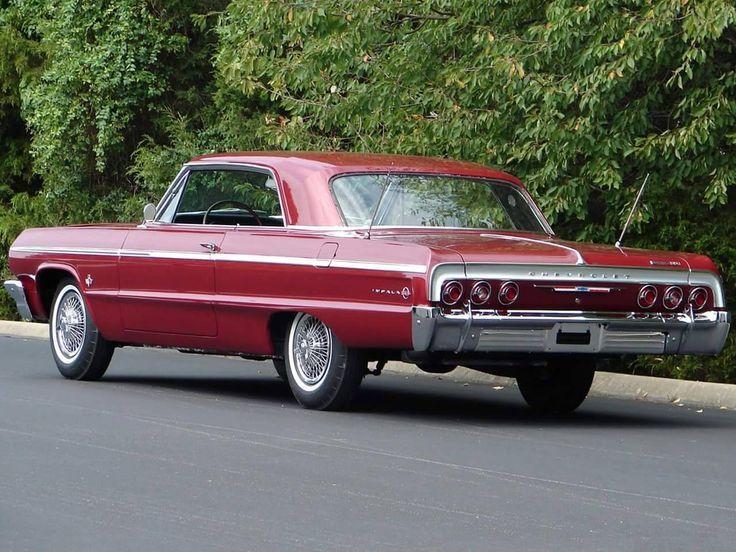 Oldtimer und Frauen – 1964 Chevrolet Impala SS #chevrolet #frauen #impala #oldti…