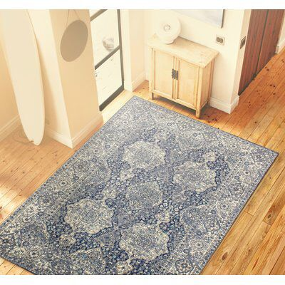 Amhurst Dark Blue Area Rug