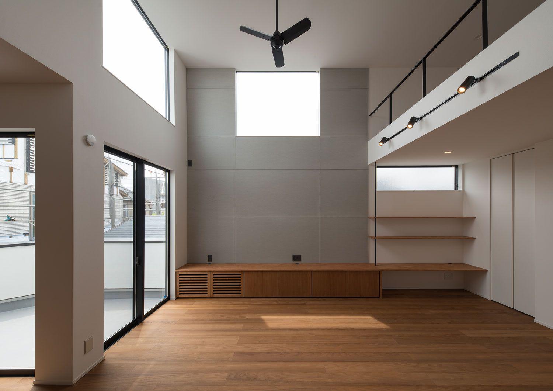 素材感が活きる スケルトン天井 コンクリート表し のメリット