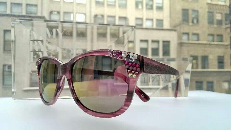 Jimmy Crystal New York Sunglasses