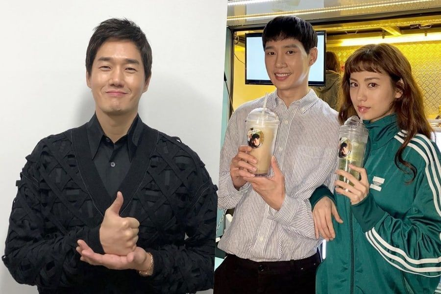 "Park Sung Hoon And Nana Thank Yoo Ji Tae For Show Of Support For Upcoming Drama ""Into The Ring"""