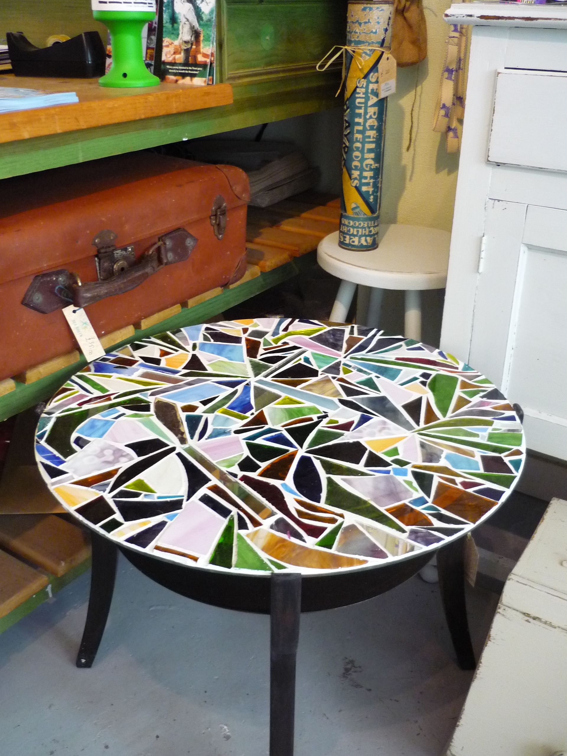 super cool diy mosaic lieselotte pinterest mosaik. Black Bedroom Furniture Sets. Home Design Ideas