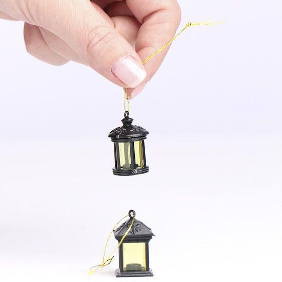 Miniature Black Lanterns