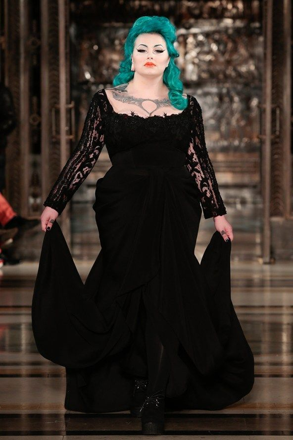 Plus Size Gothic Clothing – The Mystery Of The Dark! | sewing ideas ...