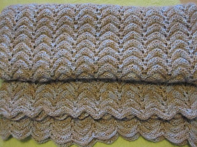 Free Pattern All Purpose Knitted Afghan By Project Linus Knit