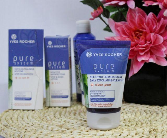 مجموعة بيور سيستم من ايف روشيه للتخلص من آثار حب الشباب Yves Rocher Pure System Anti Acne Line Anti Acne Yves Rocher Pure Products