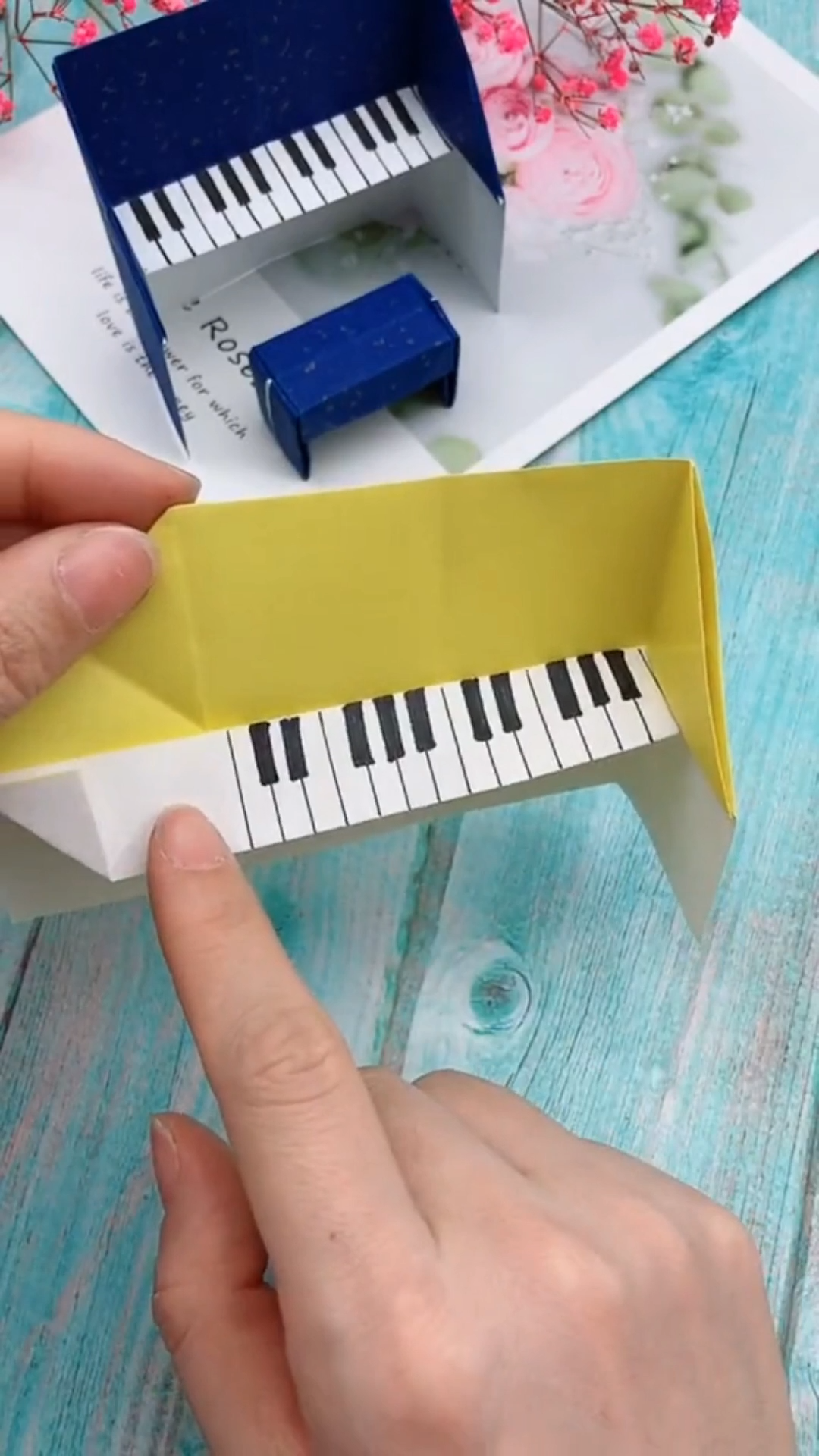 Photo of 🎹🎹🎹 Step by step, teach you how to do the DIY origami piano