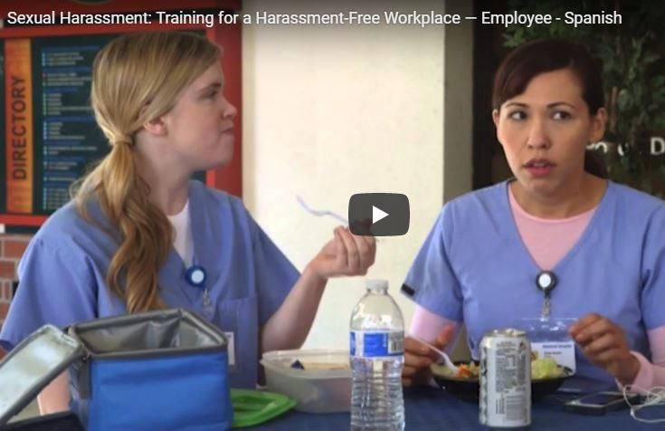 Sexual harassment training dvds