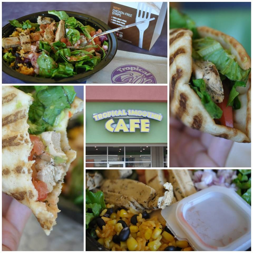 Vegan Fast Food And Restaurant Guide July 2020 Peta Vegan Fast Food Tropical Smoothie Cafe Food