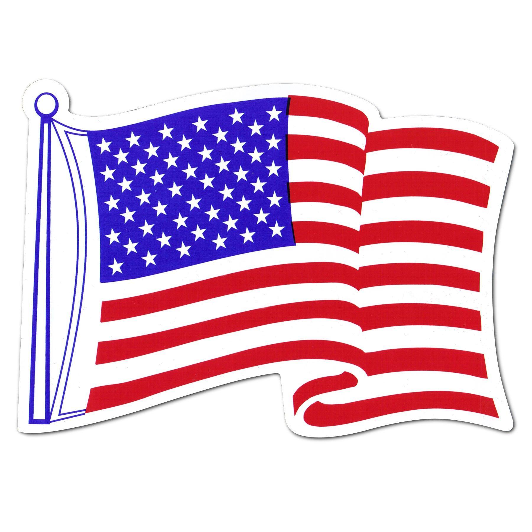 American Car Flag Magnet American Flag Clip Art American Flag Waving American Flag Sticker