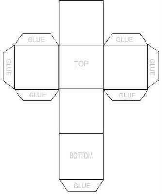 Inchies Cubes Paper Box Diy Box Template Printable Paper Box