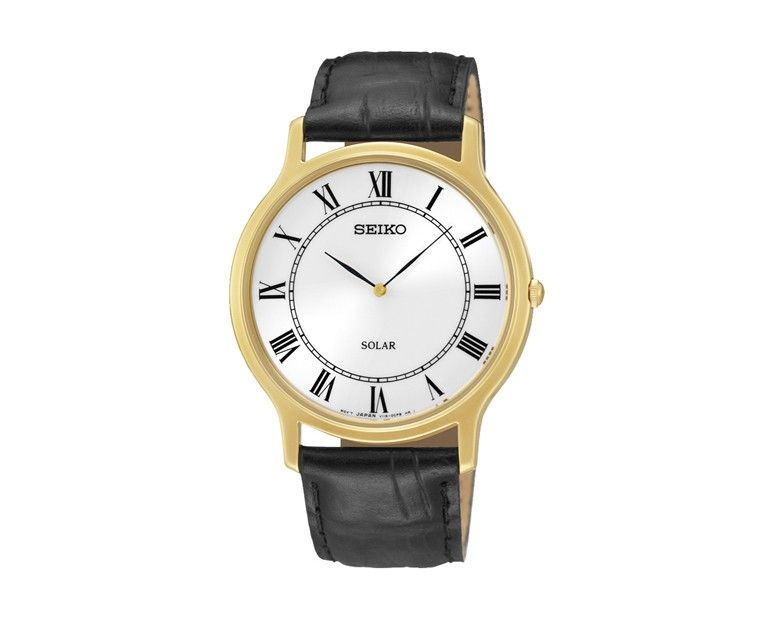ساعة يد سيكو رجالي سولار بضمان دولي لمدة سنة Sup878p1 Seiko Men Watches For Men Seiko Watches