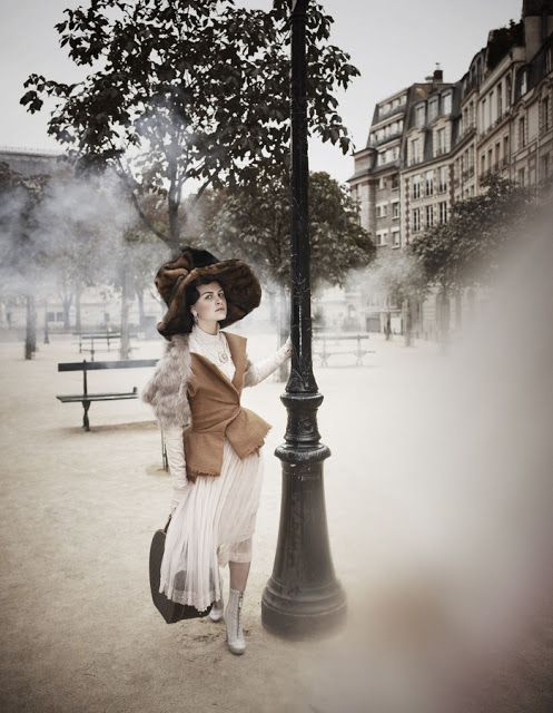 "Once upon in a Fairytale - Inspiration. ""Mise en Seine"" by Damian Foxe for How To Spend It Magazine"