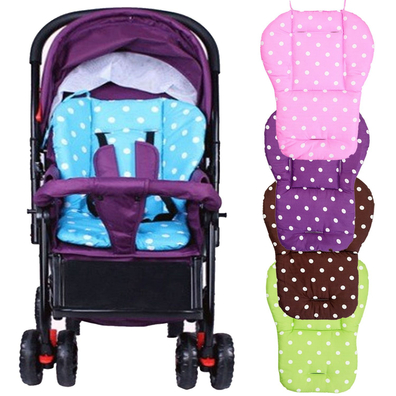 Cotton Soft Thick Baby Infant Stroller Seat Pad Pushchair