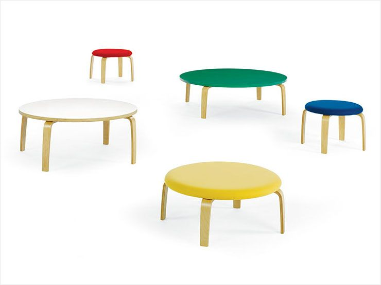 Crystal Stools And Low Tables For Kids By Freshcoast