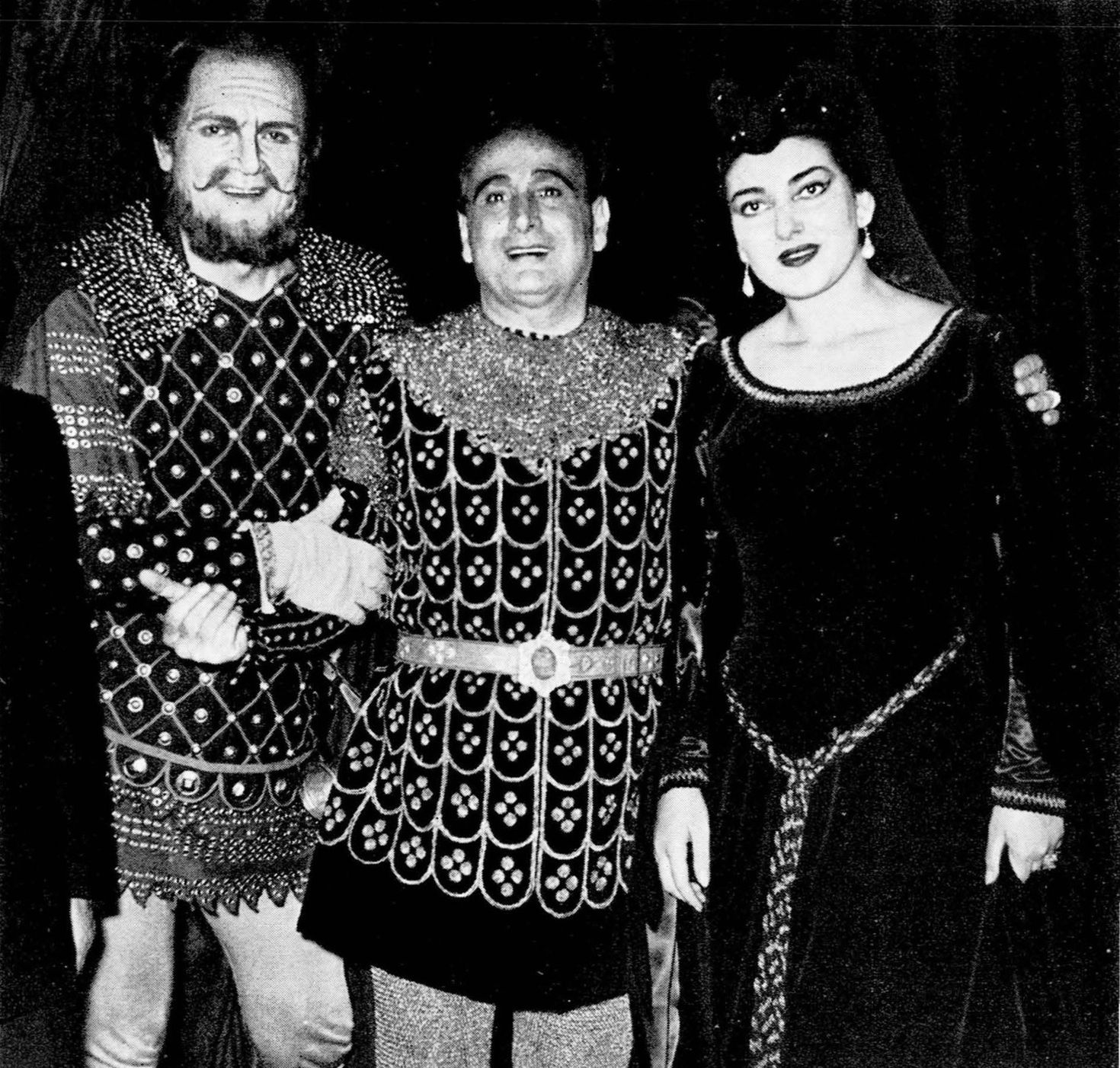 Il Trovatore, Rome, Dec 1953, with Giacomo Lauri Volpi and Giulio ...