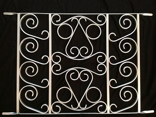 Bronze Steel Pet Grille Constructed from Steel for Durability Easy to Install