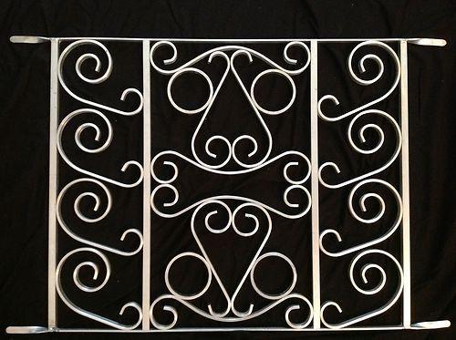 Screen Door Grille Decorative Protective Powder Coated Etsy In 2020 Decorative Screen Doors Screen Door Grilles Screen Door