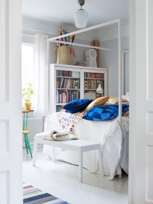 ikea Edland canopy bed Ikea Pinterest Schweden