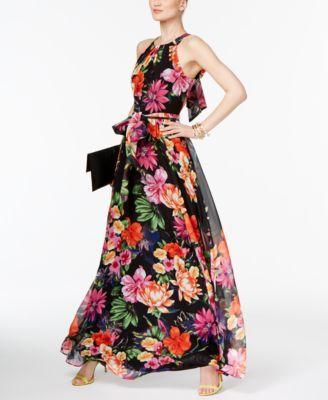 f4a4d4c792a Inc International Concepts Floral-Print Maxi Dress