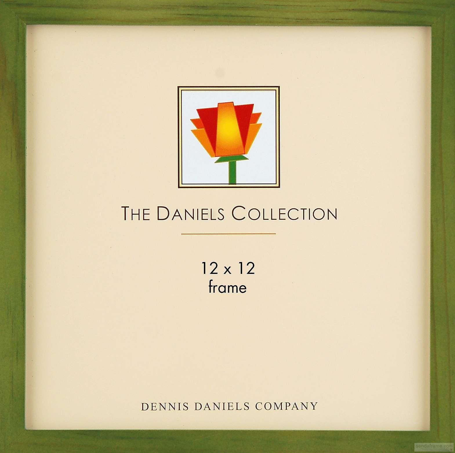 The Original DANIELS W41 12x12 sizebrin green stained oak ...