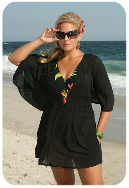 Obtener   Elegante y Fresco  Vestido Playa Tallas Grandes  Para inspirarte