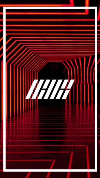 YG Lockscreen World • İKON LOGO Lockscreen reblog if you