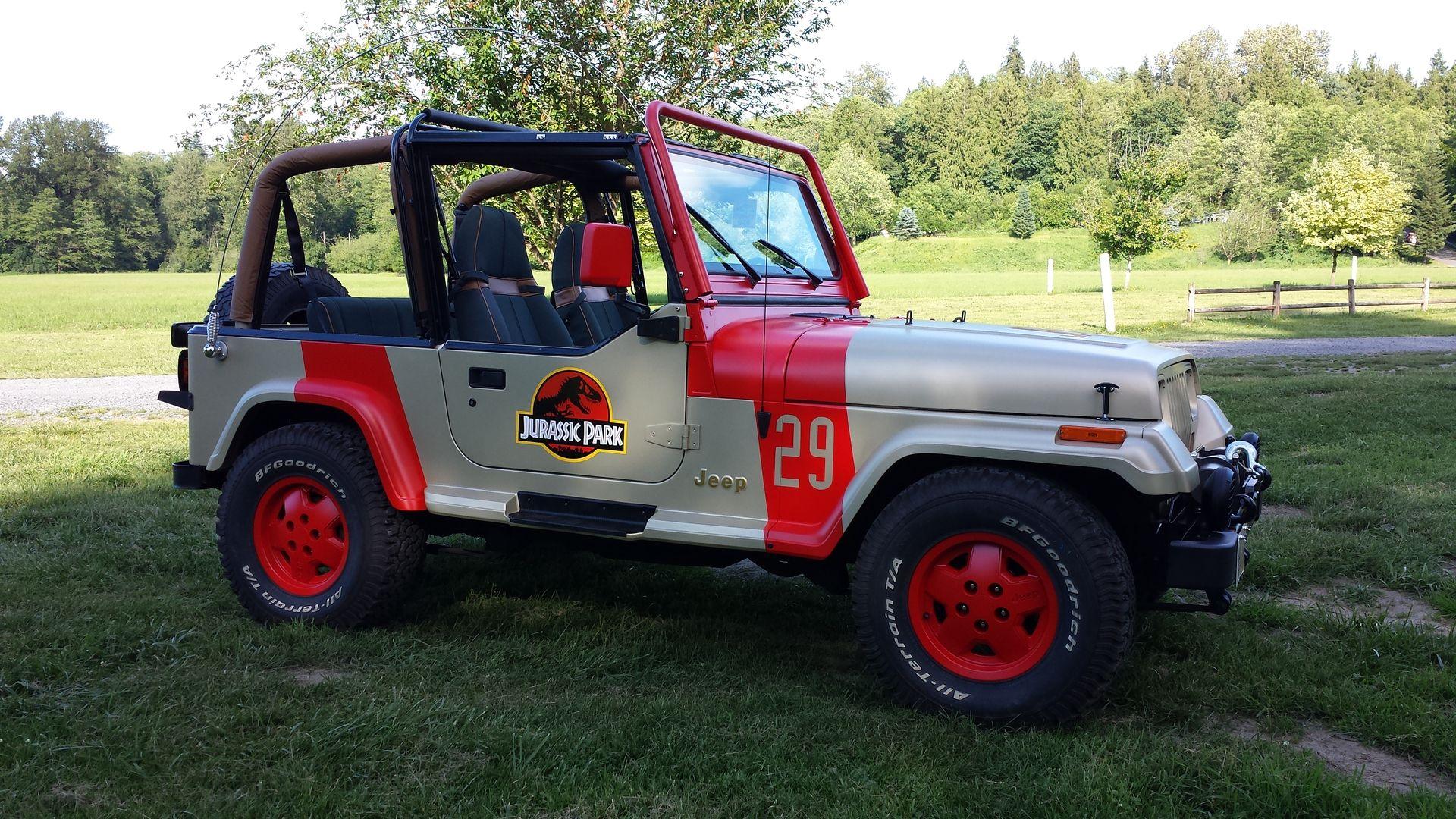 Jurassic Park Jeep Rental For Party Jurassic Park Jeep Jeep