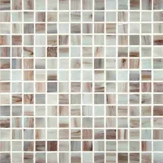 Ivory Iridescent 3 4x3 4 12x12 Sheet Iridescent Glass Tiles Mosaic Glass Iridescent Mosaic