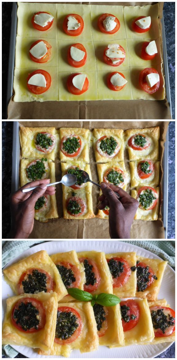 Easy peasy puff pastry squares – Carey&CleanEatingS