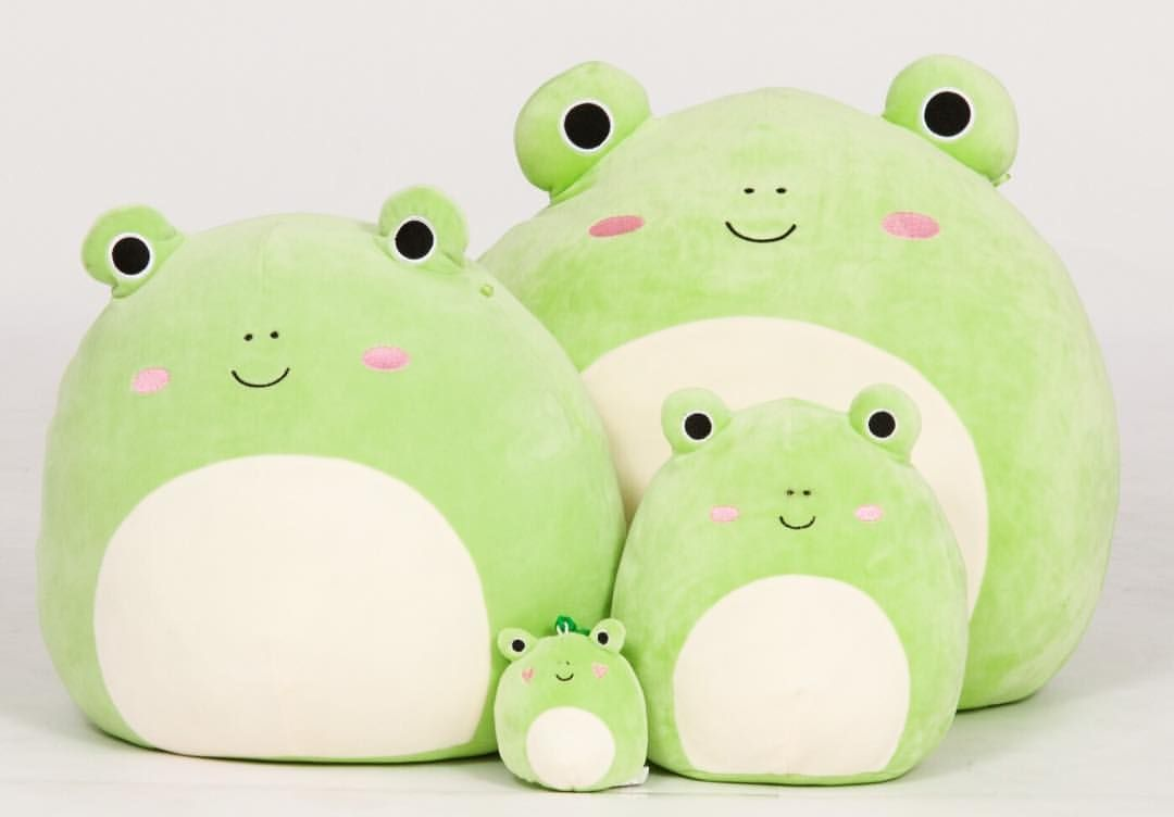Pin By Jadea Blair On Squishmallows I Want In 2021 Cute Frogs Frog Cute Stuffed Animals