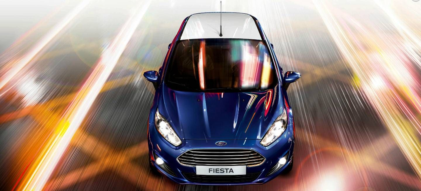 2016 Ford Fiesta Bicolor Car Ford Ford Used Ford