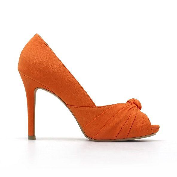 Tradizionale gonna vendere  Burnt Orange Wedding Shoes | Orange Wedding Shoes Pumpkin orange bridal  heels | Orange wedding shoes, Wedding shoes flats, Fun wedding shoes