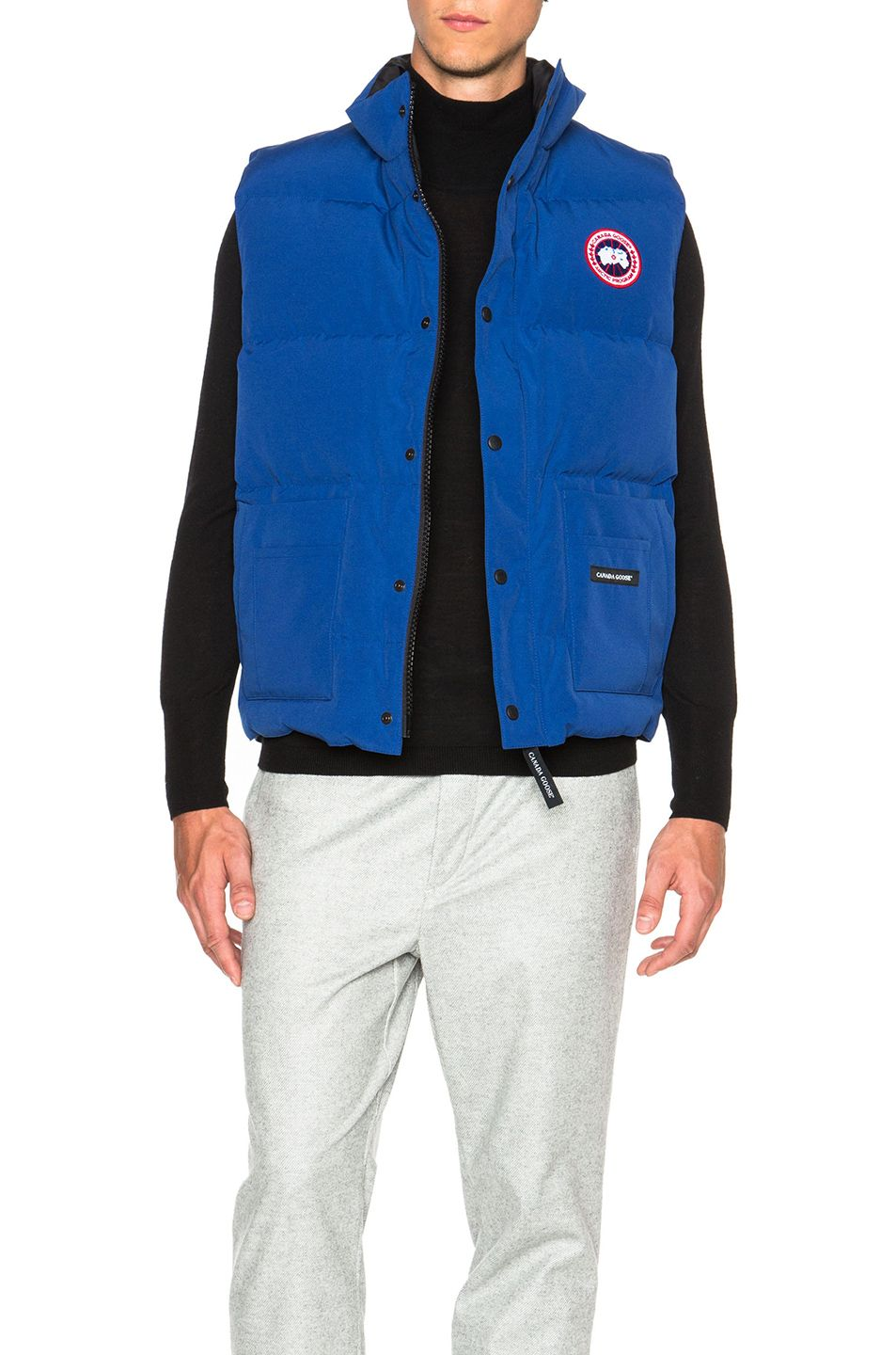 canada goose hybridge jacket pacific blue