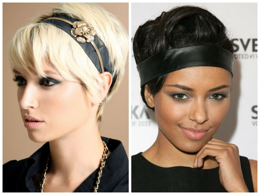 Great looking Headbands for Short Hair  Headband hairstyles