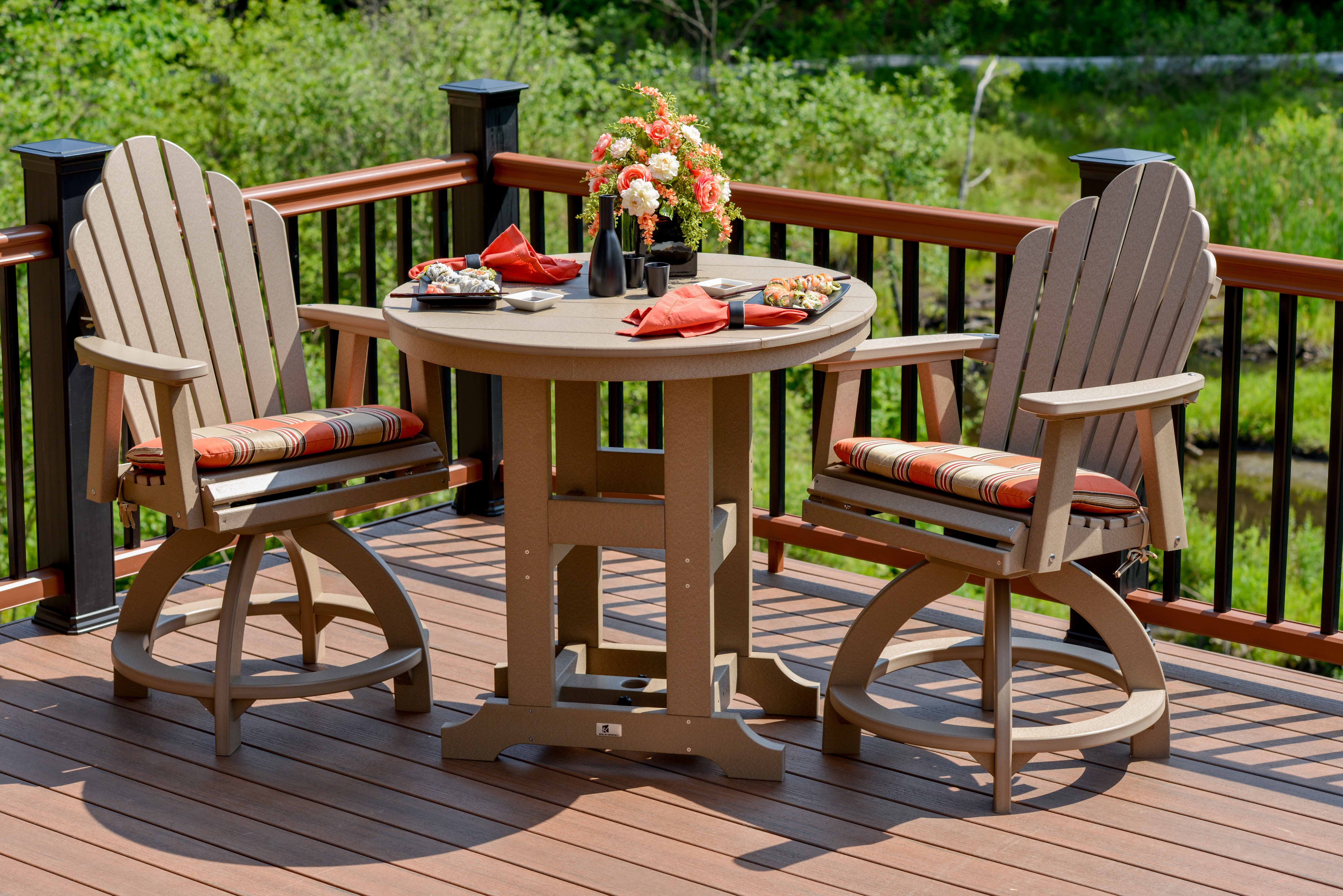 Cozy Comfortable And Inviting Our 38 Round Outdoor Dining Table