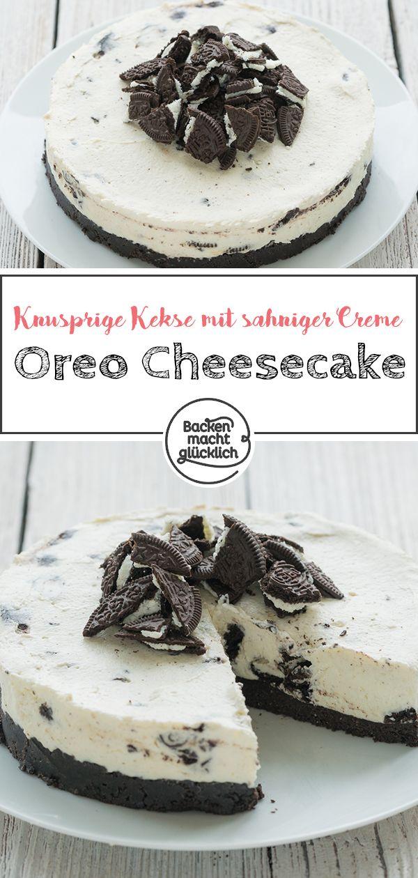 Oreo-Torte ohne Backen | Backen macht glücklich