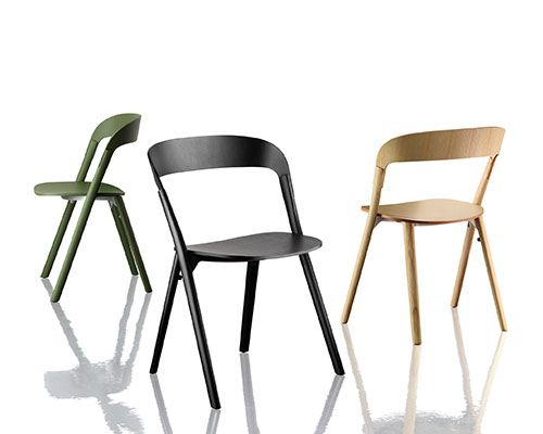 Pila Chair | District | Wood chair, Chair, Wood chair design