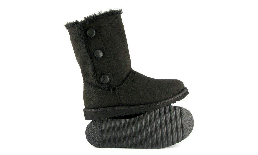 Veganer Damenstiefel | VEGETARIAN SHOES Snug Boot Black