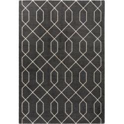 benuta Essentials Kurzflor Teppich Narvik Anthrazit 240×340 cm – Moderner Teppich für Wohnzimmer – Boda fotos