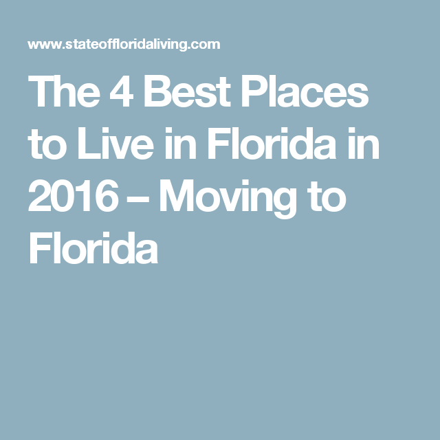 5 Best Places To Live In Florida For Families