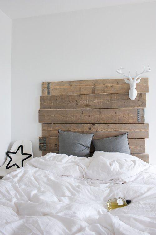 originelle ideen für bett-kopfteile bzw. -rückwände | schlafzimmer ... - Bettkopfteil Ideen Schlafzimmer