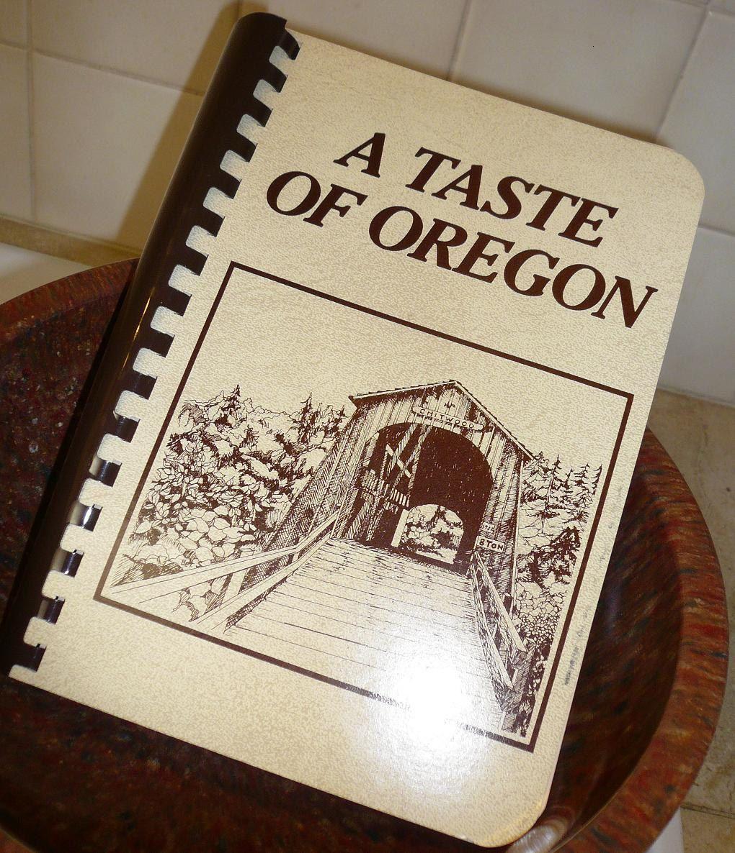 A Taste Of Oregon Jr Junior League Cookbook 1980s Etsy Junior League Cookbook Community Cookbook