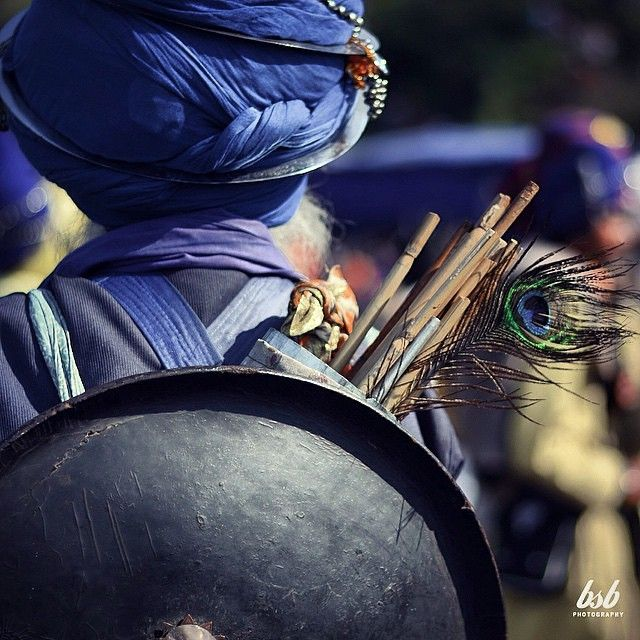 Meaning For Warriors In Tamil: Picture Of The Day 'a Nihang Singh With A Peaceful Message