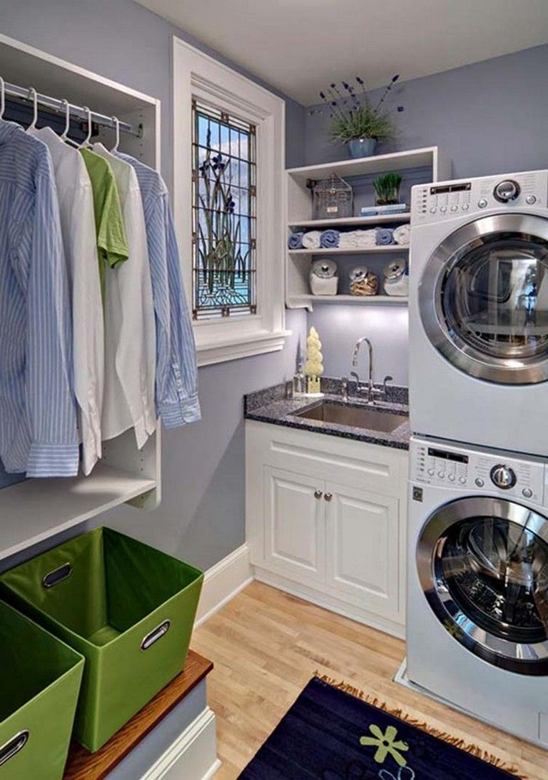 Laundry Room Decorating Ideas To Help Organize Space Small