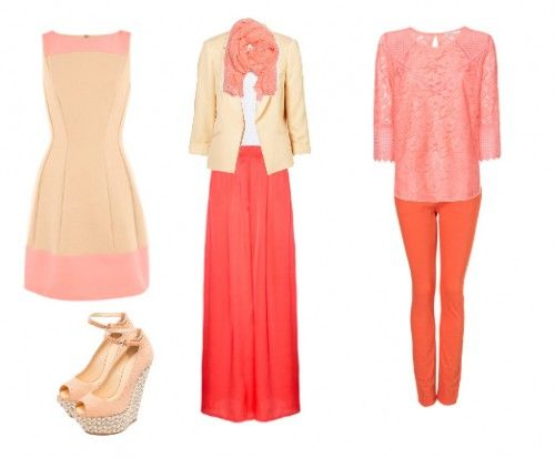 Peach is a great Spring color!