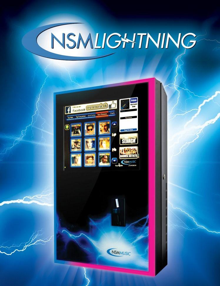 Wall Mounted Digital Jukebox: Lightning | Jukebox in 2019