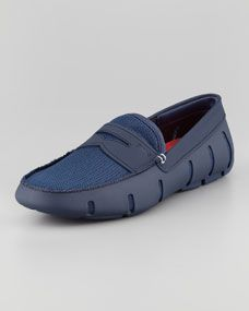 5ec79f1735298 Penny Loafer Swim Shoes | Dappered | Loafers, Penny loafers, Mens ...